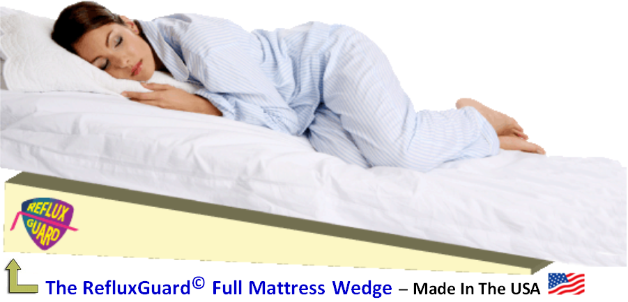 Wedge pillow for acid reflux who needs it and why for How long should you keep your mattress